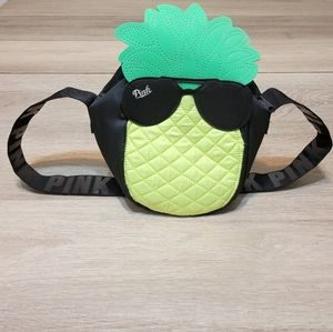 Pink Victoria Secret Pineapple Lunch Bag